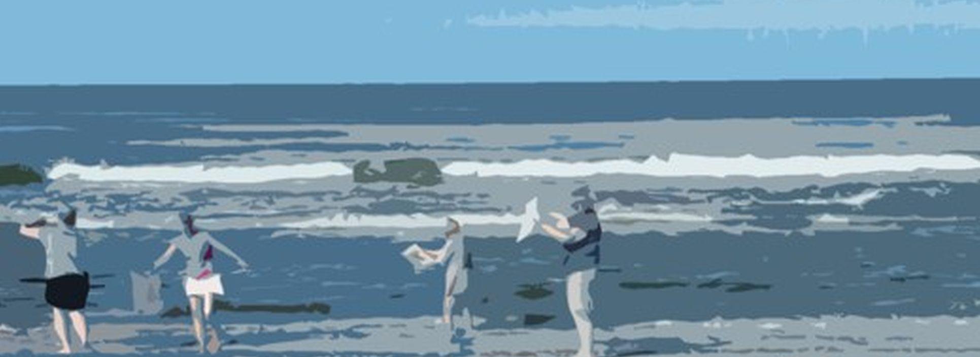 Kreative mini-ferier-Kreative dage ved Vesterhavet